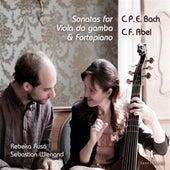 Play & Download C.P.E. Bach & Abel: Sonatas for Viola da gamba & Fortepiano by Rebeka Ruso | Napster