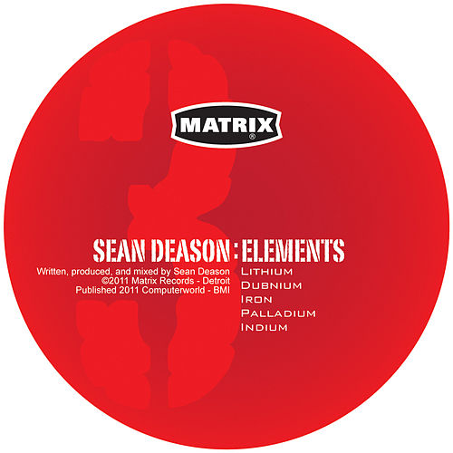 Elements Vol. Three by Sean Deason