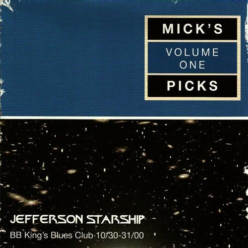 Mick's Picks Volume 1, BB King's Blues Club 10/30-31/00 by Jefferson Starship
