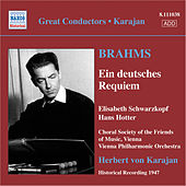 Play & Download Brahms, J.: Deutsches Requiem (Ein) (Schwarzkopf, Hotter, Karajan) (1947) by Hans Hotter | Napster