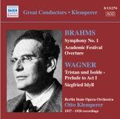 Brahms: Symphony No. 1 / Wagner: Siegfried Idyll (Klemperer) (1927-28) by Otto Klemperer