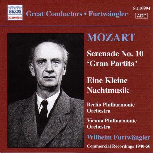 Mozart: Serenades Nos. 10 and 13 by Wilhelm Furtwängler