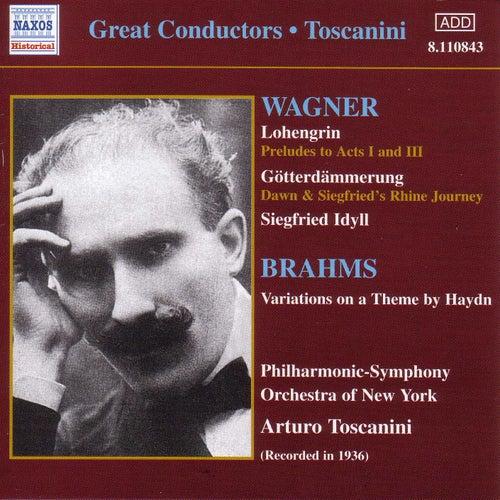 Wagner: Lohengrin / Gotterdammerung / Siegfried Idyll (Toscanini) (1936) by Arturo Toscanini