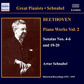 Play & Download Beethoven: Piano Sonatas Nos. 4-6 and 19-20 (Schnabel) (1932-1935) by Artur Schnabel | Napster