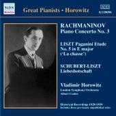 Play & Download Rachmaninov: Piano Concerto No. 3 / Liszt: Paganini Etudes  (Horowitz) (1930) by Vladimir Horowitz | Napster