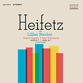 Play & Download Ferguson: Sonata No. 1, Op. 2, Khachaturian: Sonata, Op. 1 in G Minor by Jascha Heifetz | Napster