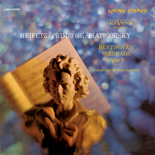 Play & Download Beethoven: Serenade, Op. 8, Kodály: Duo, Op. 7 by Jascha Heifetz | Napster