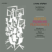 Play & Download Beethoven: Trio, Op. 9, No. 2, Bach: Sinfonia No. 4, 9, 3, Schubert: Trio No. 2 by Jascha Heifetz | Napster