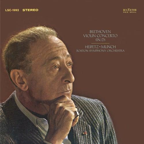 Play & Download Beethoven: Violin Concerto in D, Op. 61 by Jascha Heifetz | Napster