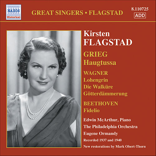 Flagstad, Kirsten: Songs and Arias (Philadelphia Orchestra, Ormandy) (1937, 1940) by Kirsten Flagstad