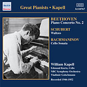 Play & Download Beethoven: Piano Concerto No. 2 / Schubert: Waltzes and Dances (Kapell)(1946-1952) by Various Artists | Napster