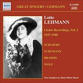 Play & Download Lehmann, Lotte: Lieder Recordings, Vol. 2 (1937-1940) by Lotte Lehmann | Napster