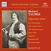 Tauber, Richard: Operetta Arias (1921-1932) by Various Artists