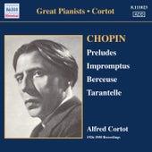 Chopin: 24 Preludes / 3 Impromptus (Cortot, 78 Rpm Recordings, Vol. 1) (1926-1950) by Alfred Cortot