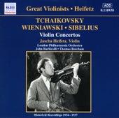 Play & Download Tchaikovsky / Wieniawski / Sibelius: Violin Concertos (Heifetz) (1935-1937) by Jascha Heifetz | Napster