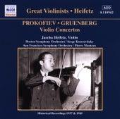 Play & Download Prokofiev / Gruenberg: Violin Concertos (Heifetz) (1937, 1945) by Jascha Heifetz | Napster