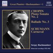 Rachmaninov, Sergei: Piano Solo Recordings, Vol.  1 - Victor Recordings (1925-1942) by Sergei Rachmaninov