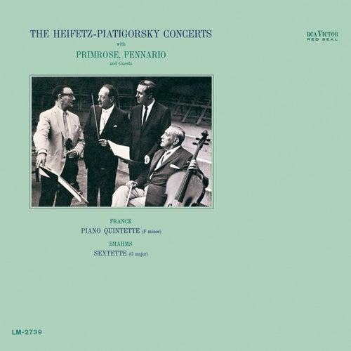 Franck: Quintet in F Minor, Brahms: Sextet, Op. 36, in G by Jascha Heifetz