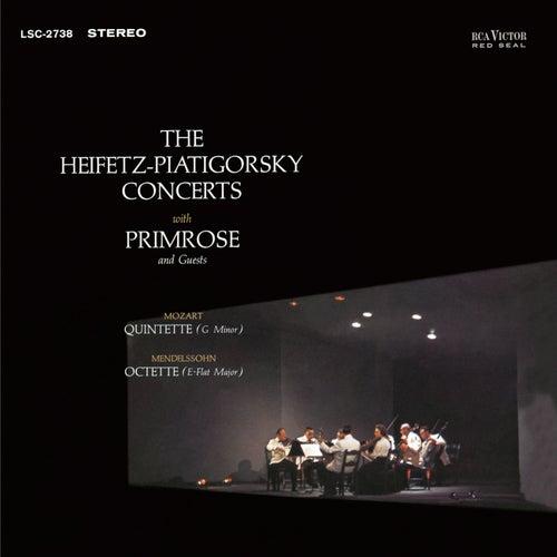 Mendelssohn: Octet, Op. 20, in E-Flat, Mozart: Quintet, K. 516 in G Minor by Jascha Heifetz