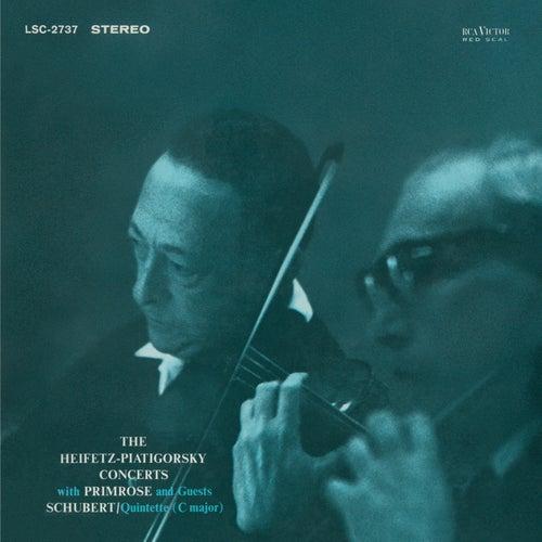 Schubert: Quintet, D. 956/Op. 163 in C, by Jascha Heifetz