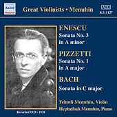 Play & Download Bach, J.S. / Enescu / Pizzetti: Violin Sonatas (Menuhin) (1929, 1936, 1938) by Yehudi Menuhin | Napster