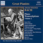 Play & Download Bach, J.S.: Piano Transcriptions, Vol. 2 (Great Pianists) (1925-1950) by Various Artists | Napster