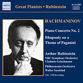 Play & Download Rachmaninov: Piano Concerto No. 2 / Rhapsody On A Theme of Paganini (Rubinstein) (1946-1950) by Arthur Rubinstein | Napster