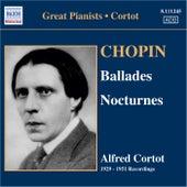Chopin: Ballades Nos. 1-4 / Nocturnes (Cortot, 78 Rpm Recordings, Vol. 5) (1929-1951) by Alfred Cortot