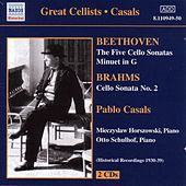 Beethoven / Brahms: Cello Sonatas (Casals) (1930-1939) by Mieczyslaw Horszowski