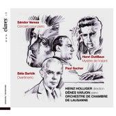 Play & Download Sándor Veress - Concerto pour piano / Henri Dutilleux - Mystère de l'instant / Béla Bartók - Divertimento by Heinz, Holliger | Napster