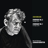Play & Download Sibelius: Symphony No. 2 in D major, op. 43; Symphony No. 7 in C Major, Op. 105 by Leonard Bernstein | Napster