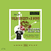 Elgar: Violin Concerto in B Minor, Op. 61 by Jascha Heifetz