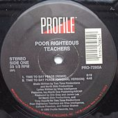 Time To Say Peace b/w Butt Naked Booty - EP by Poor Righteous Teachers