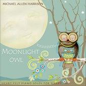 Moonlight Owl by Michael Allen Harrison
