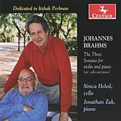 Play & Download Brahms: The Three Sonatas for violin and piano (arr. cello and piano) by Jonathan Zak | Napster