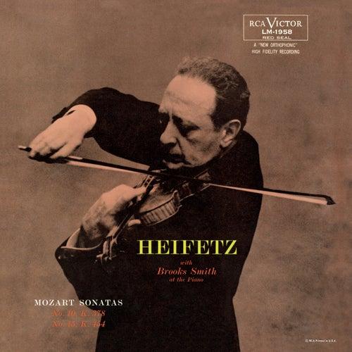 Mozart: Sonata, K. 378, in B-Flat, Sonata, K. 454, in B Flat by Jascha Heifetz