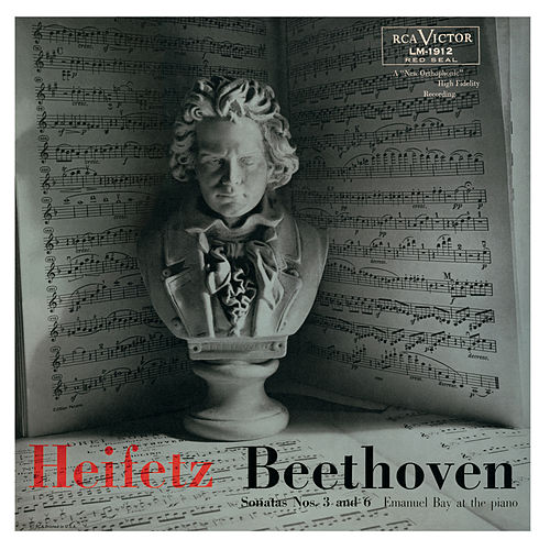 Beethoven: Sonata No. 3 in E-Flat, Op. 12, No. 3, Sonata No. 6, Op. 30, No. 1 in A by Various Artists