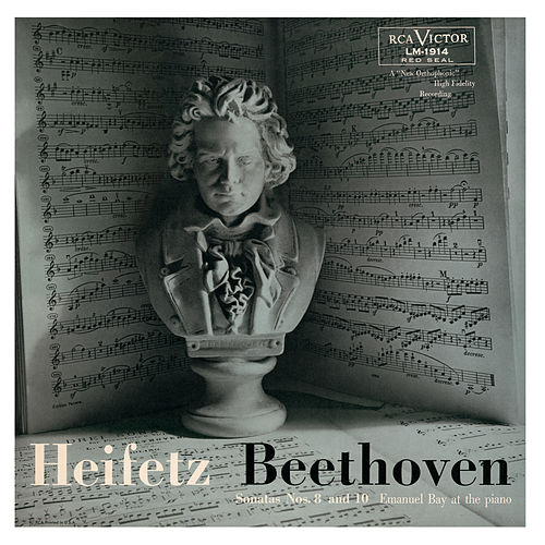 Play & Download Beethoven: Sonata No. 8, Op. 30, No. 3 in G, Sonata No. 10, Op. 96 in G by Jascha Heifetz | Napster