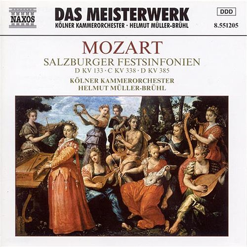 Play & Download Mozart: Salzburg Festival Symphonies (Symphonies Nos. 20, 34 and 35) by Helmut Muller-Bruhl | Napster