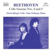 Beethoven: Cello Sonatas Nos. 4 and 5, Op. 102 by Maria Kliegel