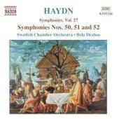 Haydn: Symphonies, Vol. 27 (Nos. 50, 51, 52) by Bela Drahos