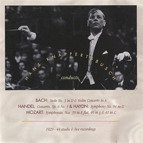 Hans Knappertsbusch conducts Studio & Live Performances (1929-1944) by Various Artists