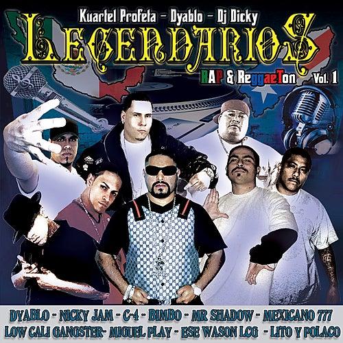 Legendarios - Rap & Regaetton Vol.1 by Various Artists
