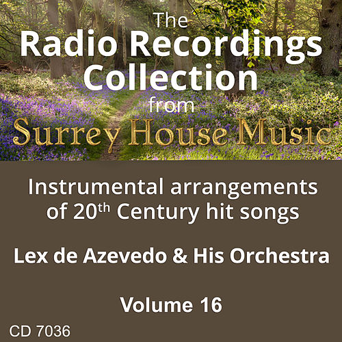 Lex DeAzevedo & His Orchestra, Volume Sixteen by Lex De Azevedo