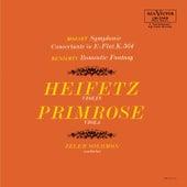 Play & Download Mozart: Sinfonia concertante in E-Flat, K.364, Benjamin: Romantic Fantasy by Jascha Heifetz | Napster
