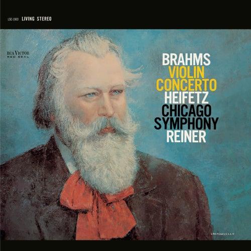 Brahms: Violin Concerto in D, Op. 77 by Jascha Heifetz