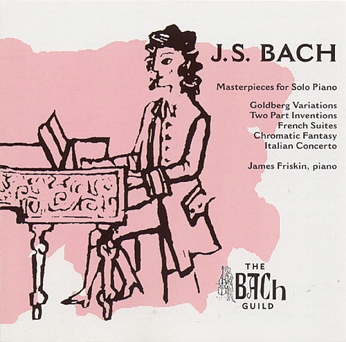 Play & Download Masterpieces For Solo Piano by Johann Sebastian Bach | Napster