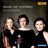 Play & Download Brahms - Liszt - Schönberg by Boulanger Trio | Napster