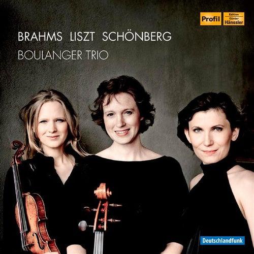 Brahms - Liszt - Schönberg de Boulanger Trio