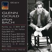 Glenn Gould plays Bach (1952-1955) by Various Artists